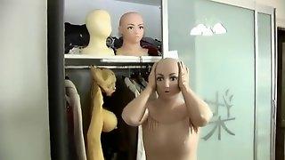 Zentai Masking Doll