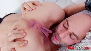 Suctioned babe analized by big cock up ahead 69ing for cum in mouth