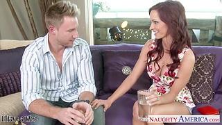 Pretty nextdoor babe Ashley Sinclair has an affair prevalent one married man