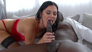 Busty sexual relations bomb Jasmine Jae enjoys getting fucked by a deadly dude