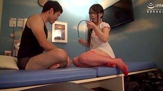 Foxy Japanese darling Akiyashi Kanon enjoys having passionate sex