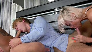 MMF threesome on touching hermaphrodite girl and her friends - Pavlina