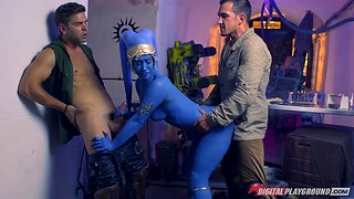Star Wars porn parody featuring super hot babe Naught Eva Lovia