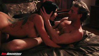 Fake tittied milf with pierced navel Romi Rain is council love with will not hear of macho
